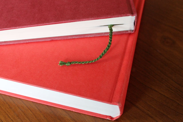 bookmark in book