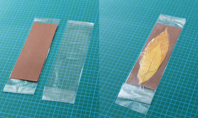 how to laminate using packing tape