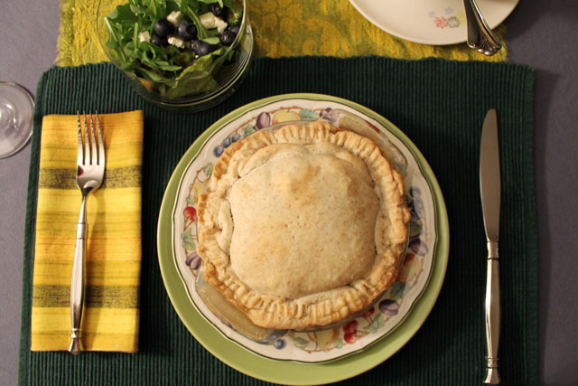 individual turkey pot pie
