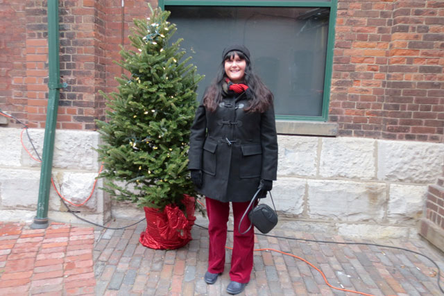 at christmas market