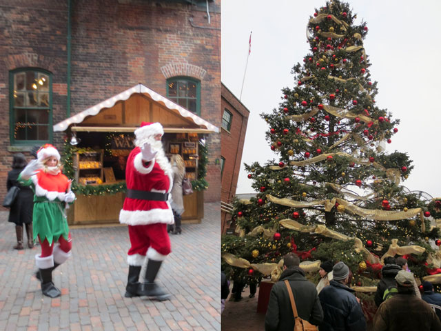 santa and big tree