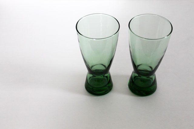 thrifted-green-glasses-drinking