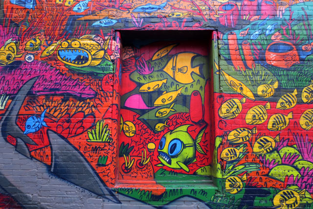 fish-painting-queen-st-w-alley