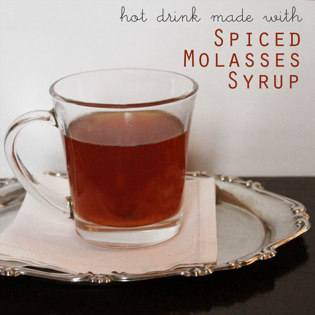 hot drink spiced molasses