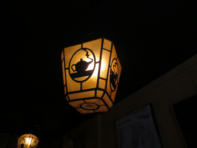 lamps at queen mother