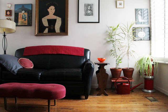 living-room-with-watering-can