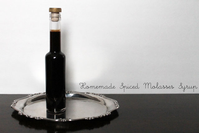 spiced molasses syrup diy