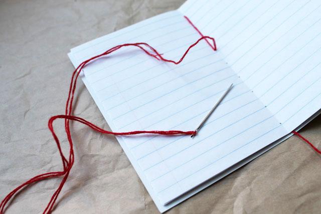 coptic binding handmade notebook