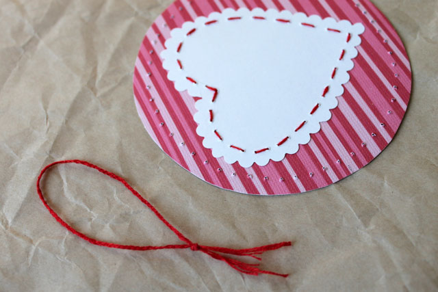 hanger for diy valentine