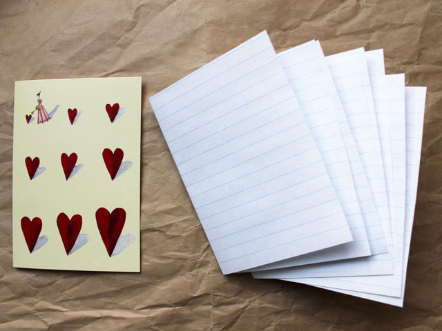 pages for diy notebook