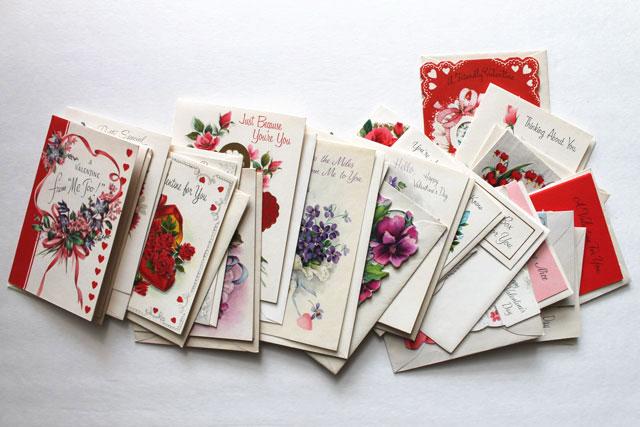 vintage valentines for friends 2