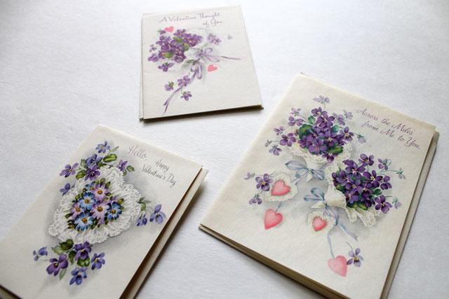 vintage violet valentines