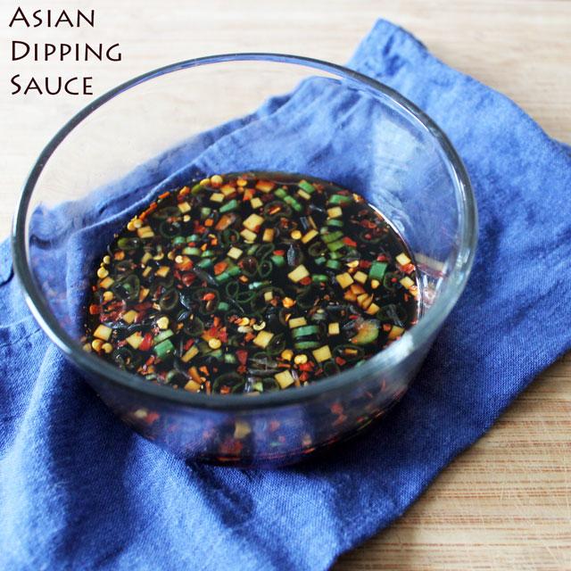 Asian Dipping Sauce-recipe
