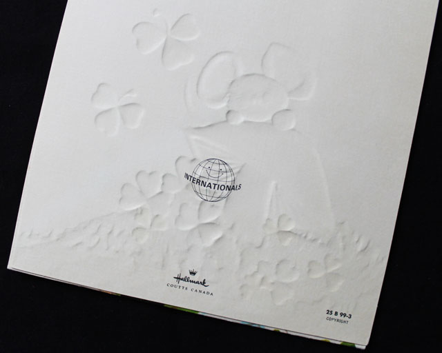 markings on vintage hallmark coutts card