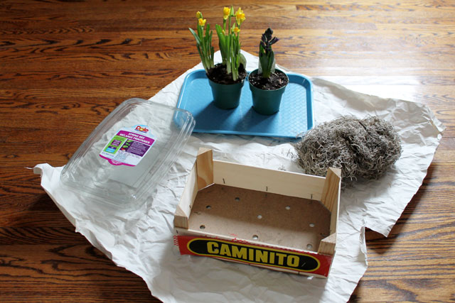 supplies-to-make-a-plant-box-from-upcycled-orange-crate