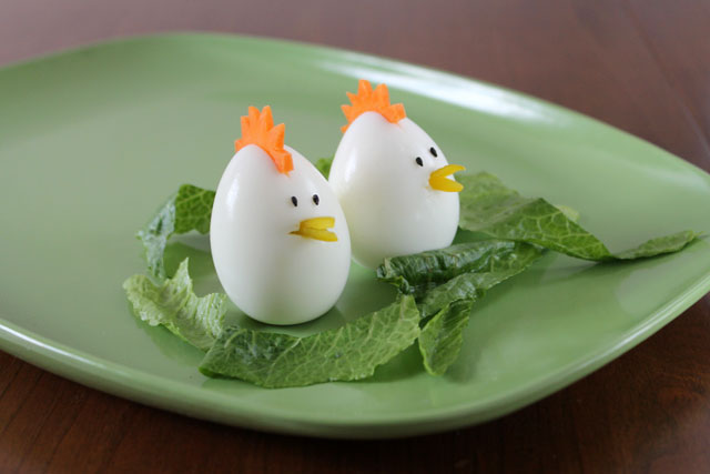 chickens made from eggs easter decoration1