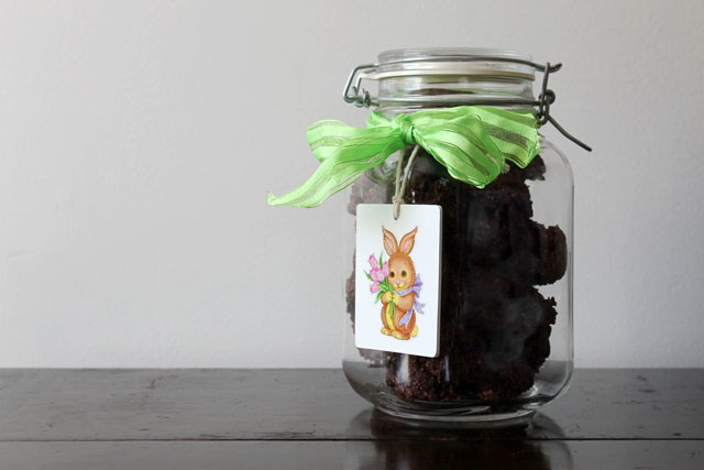 homemade-chocolate-macaroons-easter-gift