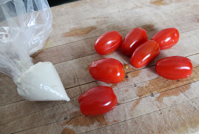 making grape tomato tulips 2