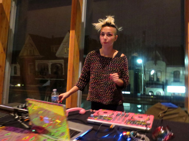 dj maylee todd at ago first thursday