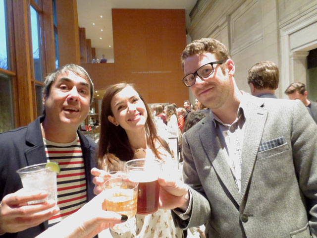 drinks at ago first thursday
