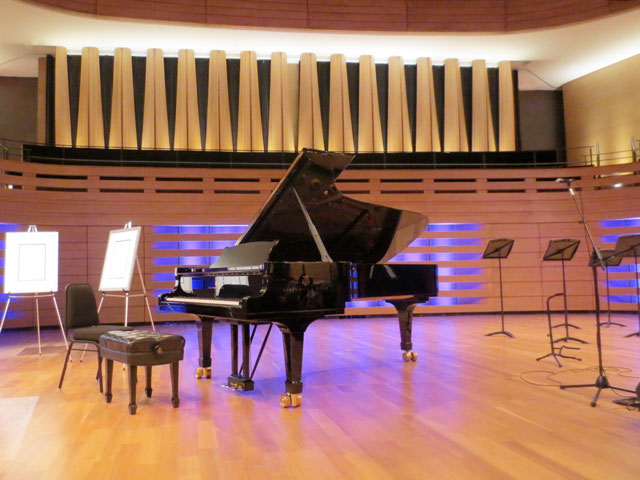 koerner hall steinway concert grand piano