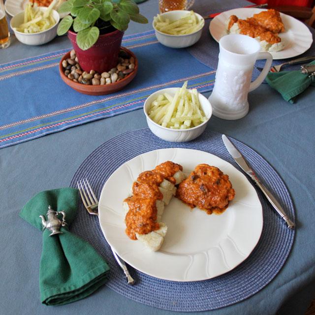 chicken-paprikash-czech-dumplings-cucumber-salad