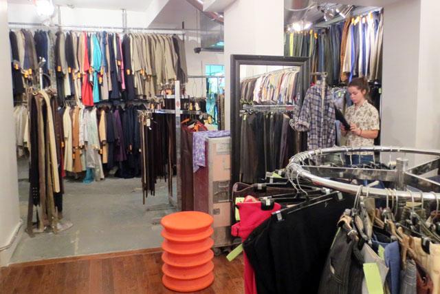 at jack lux vintage pop up shop toronto