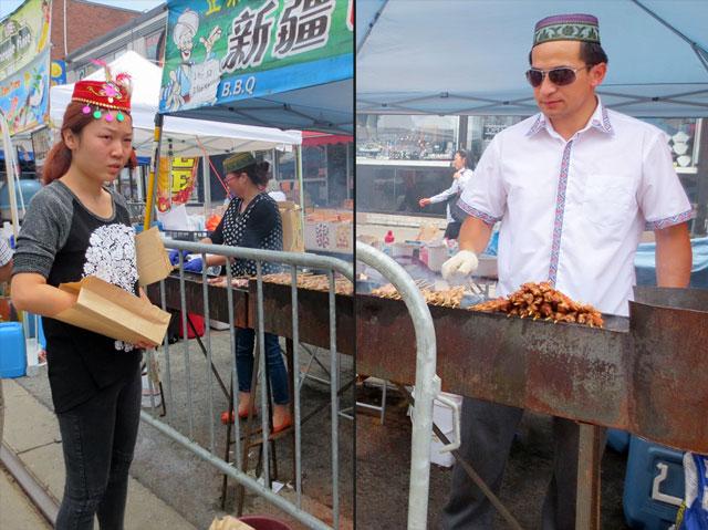 chinatown-festival-toronto-bbq-food-stall