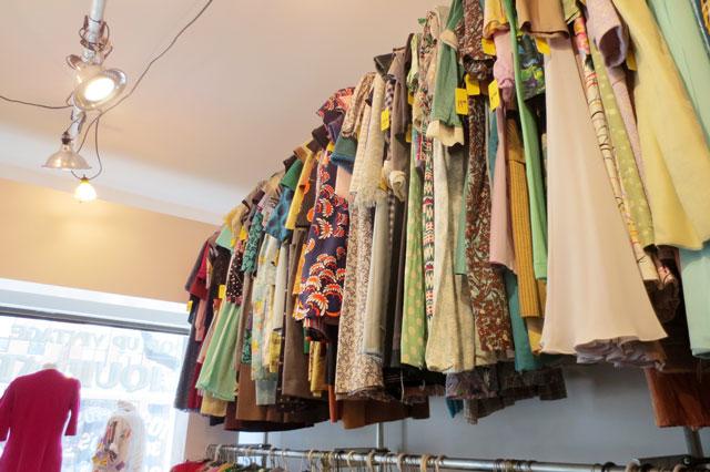 dresses at jack lux vintage pop up shop toronto 02