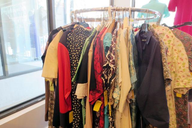 dresses at jack lux vintage pop up shop toronto 03