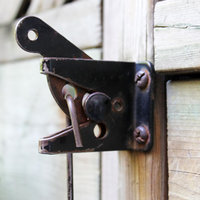 gate-latch-secured-from-the-inside