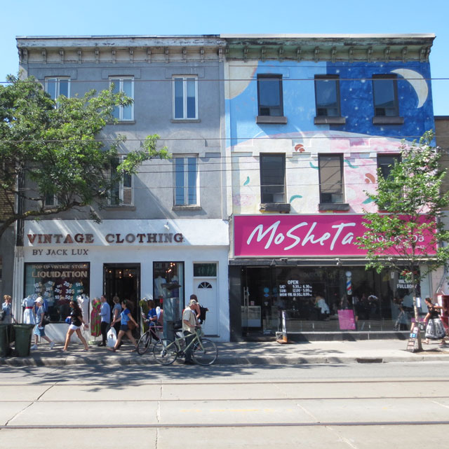 jack lux vintage pop up shop 536 queen street west toronto summer 2014
