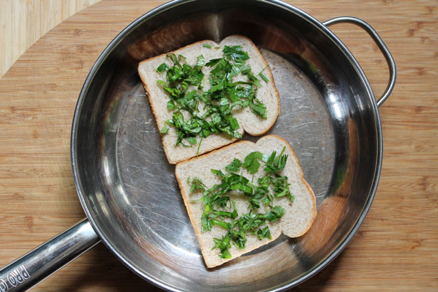 making-fresh-herb-grilled-cheese-sandwich-step-2