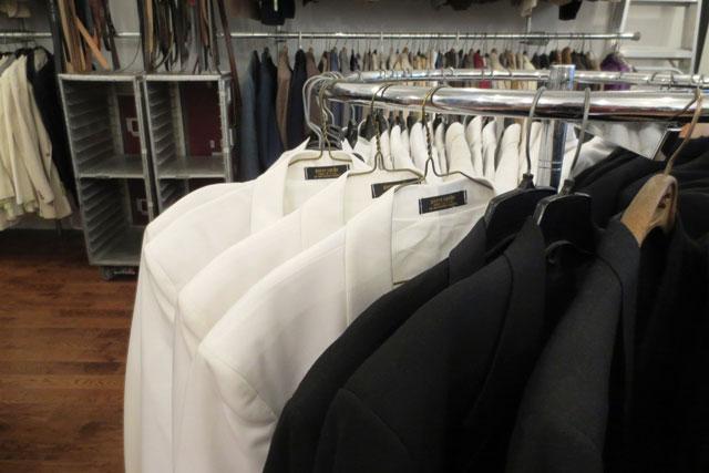 vintage tuxedos at jack lux toronto pop up shop