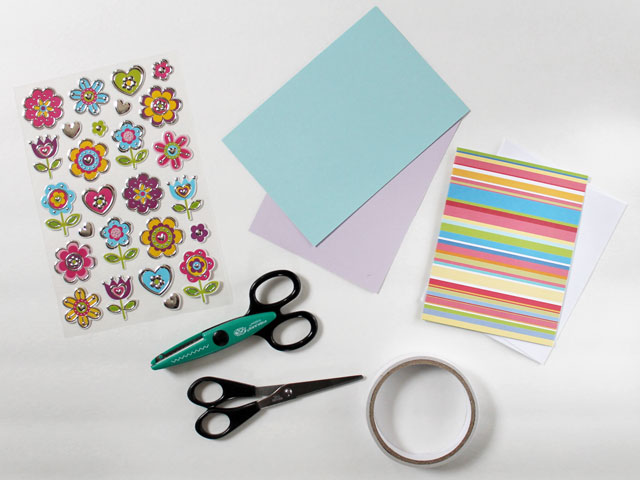 Card Making Supplies To Make An Easy Greeting
