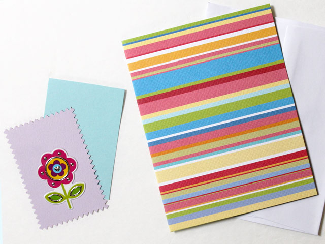greeting-card-handmade-with-a-flower-sticker
