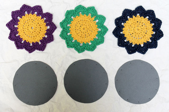 making-crocheted-coasters-with-waterproof-backings