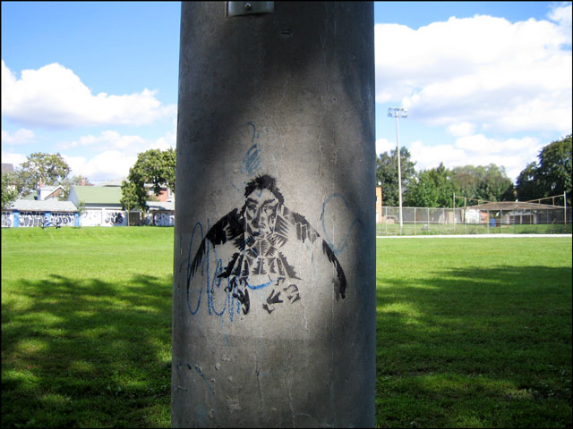 birdman-stencil-on-pole