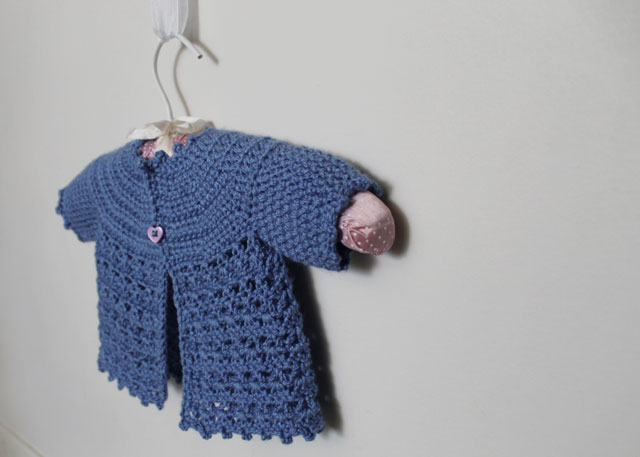 crocheted-baby-sweater