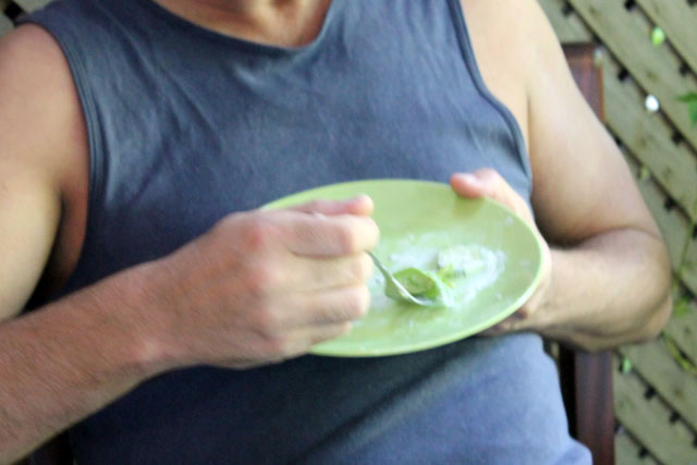 nick-having-salad