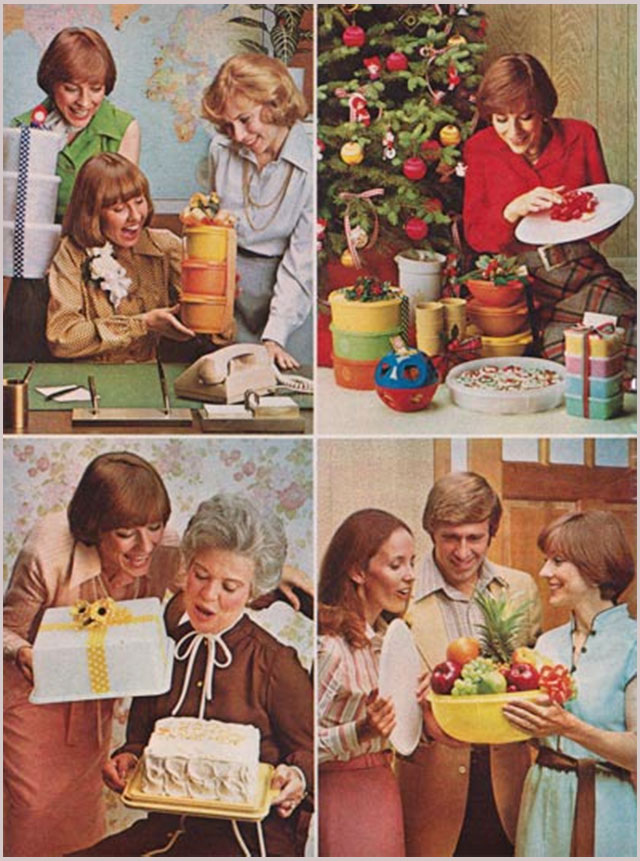 70s tupperware ad