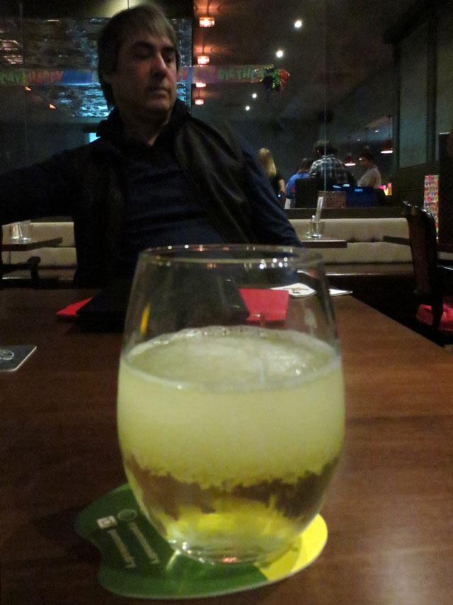having-pommies-dry-cider-at-louis-cifer-toronto