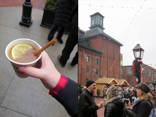 drambuie hot toddy at the distillery district christmas market toronto 2014