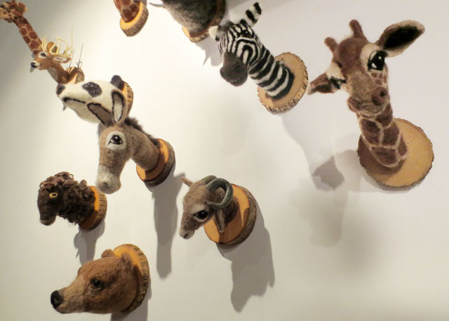 faux fauna by felt factory