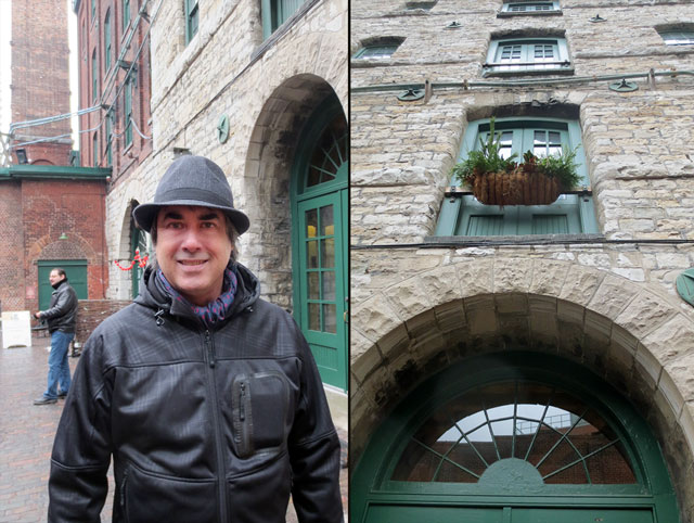 in distillery district