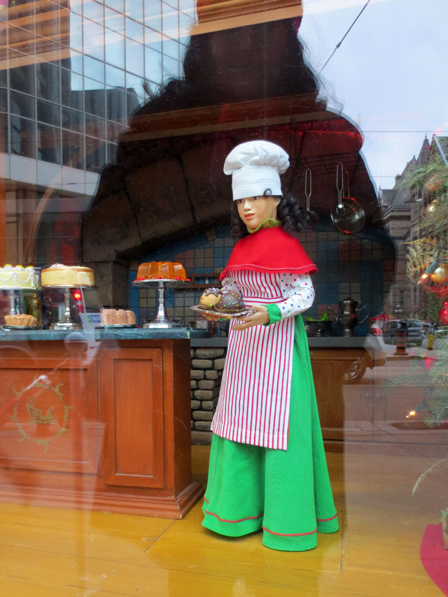 queen and yonge double exposure christmas diorama december 2014 05