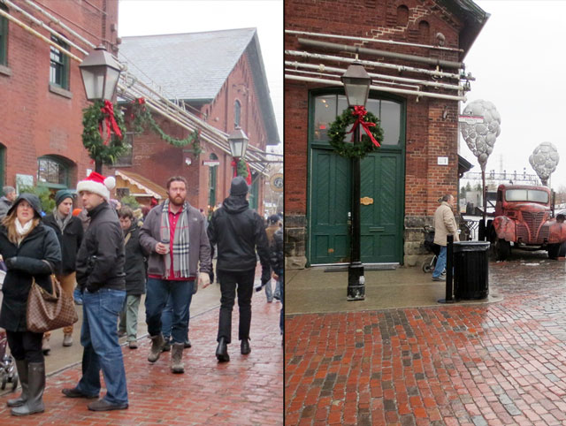 the distillery district christmas market