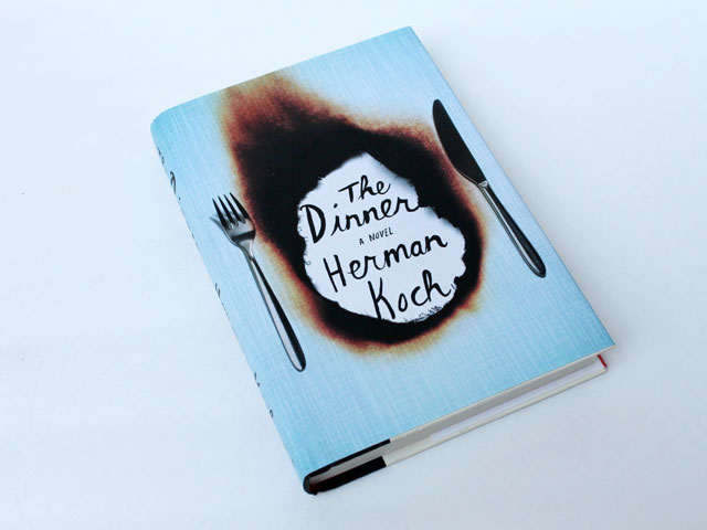 thrifted book the dinner by herman koch