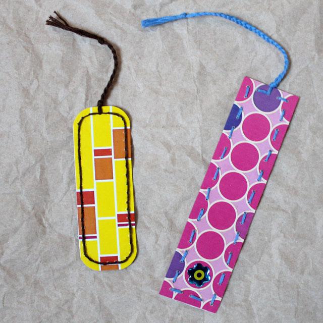 bookmark-made-from-repurposed-tissue-box-diy-handmade