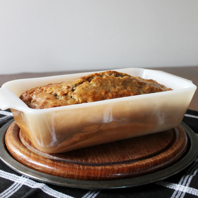 Healthier Banana Bread : Made with Bran, Almonds and Olive ...